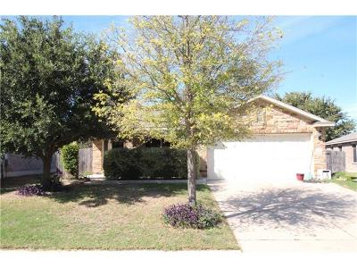 Leander Single Family Home For Sale: 919 Flanagan Dr