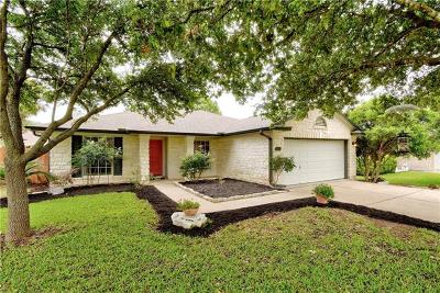 Cedar Park Single Family Home Pending - Taking Backups: 1210 Knoll Ridge Dr