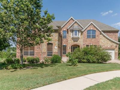 Round Rock Single Family Home For Sale: 2224 Hamlet Cir