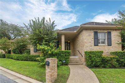 Condo/Townhouse For Sale: 2203 Onion Creek Pkwy #5