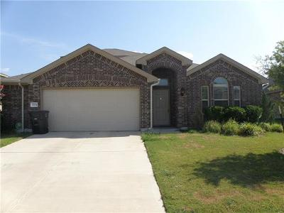 Killeen Single Family Home For Sale: 3504 Cotton Patch Dr