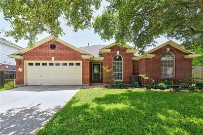 Cedar Park Single Family Home For Sale: 2104 Zoa Dr