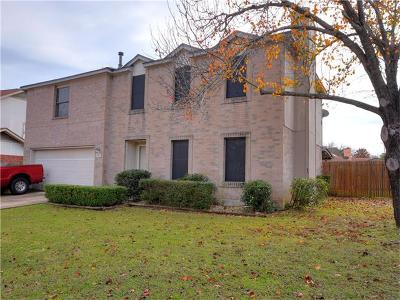 Round Rock Single Family Home For Sale: 2101 Logan Dr