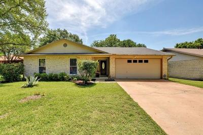 Hays County, Travis County, Williamson County Single Family Home Pending - Taking Backups: 8105 Appomattox Dr
