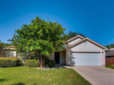 Round Rock Single Family Home Pending - Taking Backups: 1608 Whirlwind Trl