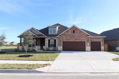 Round Rock Single Family Home For Sale: 3453 Francisco Way