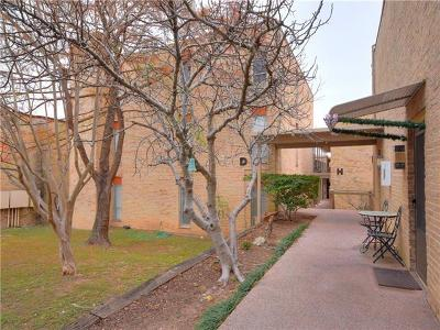 Travis County Condo/Townhouse For Sale: 3431 North Hills Dr #107