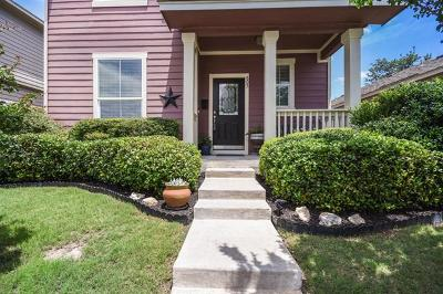 Cedar Park Single Family Home For Sale: 805 Alamo Plaza Dr