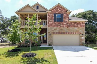 Georgetown Single Family Home For Sale: 400 Pinnacle View Dr