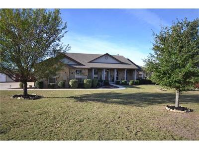 Liberty Hill Single Family Home Pending - Taking Backups: 108 S Rawhide Trl