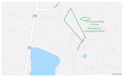 Hutto Residential Lots & Land For Sale: 221 Tonkawa Rdg