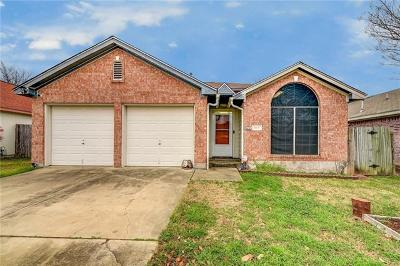 Round Rock Single Family Home Pending - Taking Backups: 1607 Breezy Ct