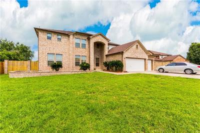 Round Rock Single Family Home For Sale: 105 Sultana Ct