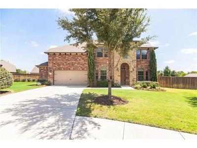 Round Rock Single Family Home For Sale: 2644 Estefania Ln