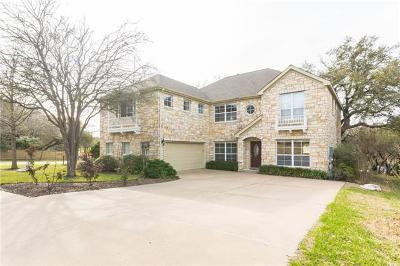 Round Rock Single Family Home For Sale: 2500 Crenshaw Dr