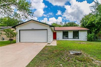 Single Family Home Pending - Taking Backups: 5800 Boulder Crk