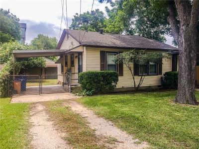 Austin Single Family Home For Sale: 6013 Sheridan Ave