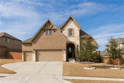 Leander Single Family Home For Sale: 3001 Rabbits Tail Dr