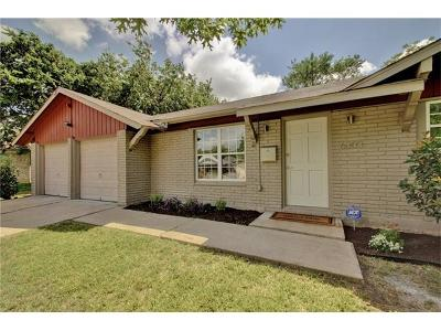 Austin Single Family Home Pending - Taking Backups: 6303 Brookside Dr