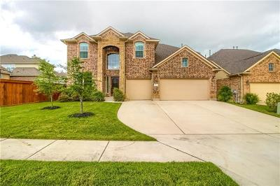 Pflugerville Single Family Home For Sale: 18209 Copper Grassland Way