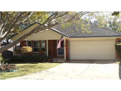Cedar Park Single Family Home For Sale: 1604 Harvest Moon Pl