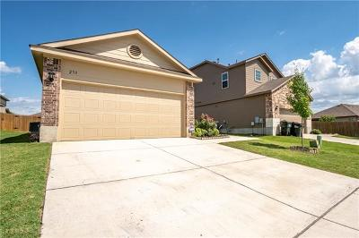 San Marcos Single Family Home For Sale: 233 Tallow Trl