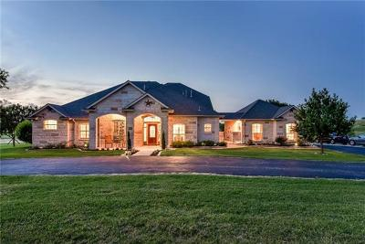Williamson County Single Family Home For Sale: 20145 Janak Rd