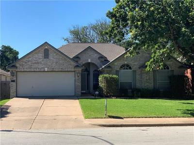 Cedar Park Single Family Home For Sale: 2211 Granger Ln