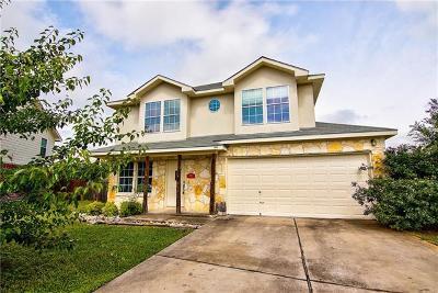 Leander Single Family Home For Sale: 704 Honeysuckle Dr