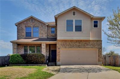 Round Rock Single Family Home For Sale: 1307 Casa Blanca Cv