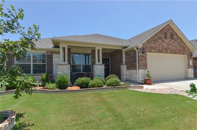 Leander Single Family Home Pending - Taking Backups: 1828 Cactus Mound Dr