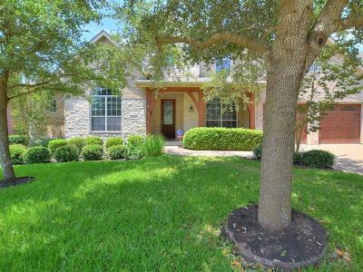 Round Rock Single Family Home For Sale: 2829 Cool River Loop