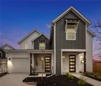 Travis County Single Family Home For Sale: 3711 Garden Villa Ln #B