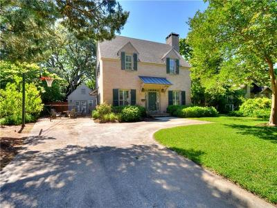 Austin Single Family Home For Sale: 1703 Robinhood Trl