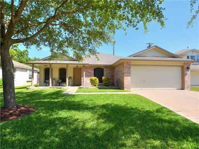 Leander Single Family Home For Sale: 3408 Napa Valley Bnd