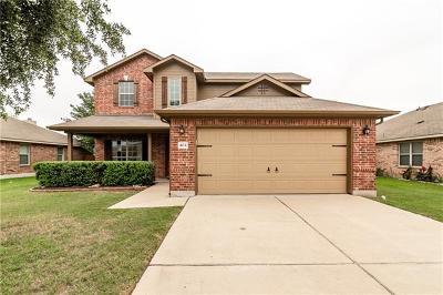 Hutto Single Family Home For Sale: 404 Grisham Dr