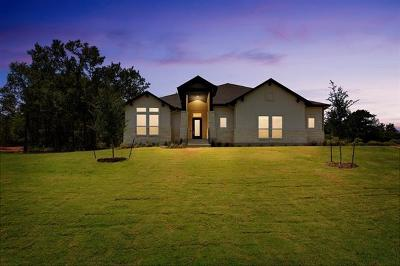 Cedar Creek Single Family Home For Sale: 107 Flycatcher Cv