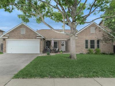 Cedar Park Single Family Home Pending - Taking Backups: 1613 Paper Moon Dr