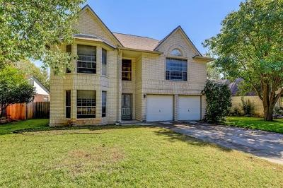 Pflugerville Single Family Home For Sale: 542 Tanner Trl