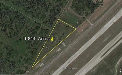 Manor Residential Lots & Land For Sale: 7500 N Sh 130 S Bnd Frontage Rd