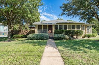 Travis County, Williamson County Single Family Home For Sale: 924 E 52nd St #A
