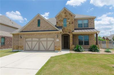 Leander Single Family Home For Sale: 1112 Matheson Dr