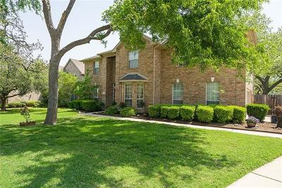 Round Rock Single Family Home For Sale: 3019 Senna Ridge Trl