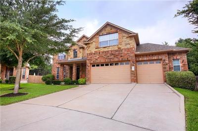 Cedar Park Single Family Home For Sale: 2807 Costello Ct