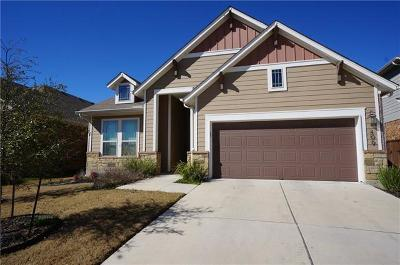 Liberty Hill Single Family Home For Sale: 409 Inspiration Dr