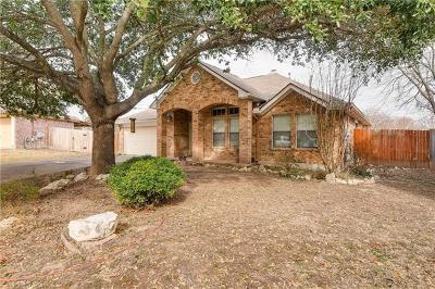 Round Rock Single Family Home Pending - Taking Backups: 1702 Gnu Gap
