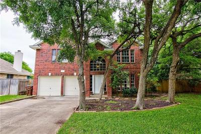 Round Rock Single Family Home For Sale: 2007 Cedar Bend Dr