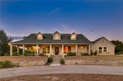 Salado Single Family Home For Sale: 15345 Seven Ranch Rd