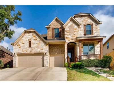 Cedar Park Single Family Home For Sale: 4405 Zacharys Run
