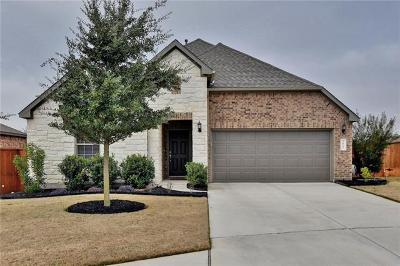 Round Rock Single Family Home For Sale: 2812 Penelope Ct